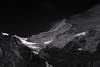 Schreckhorn (Marshall Ward) Tags: schreckhorn thealps grindelwald switzerland swissalps marshallward nikond800 afszoomnikkor2470mmf28ged 2016 autumn landscape bw mono mountains snow europe