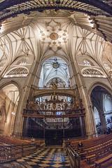 Catedral de Palencia, coro y transepto nuevo (ipomar47) Tags: arquitectura architecture catedral cathedral basilica san antolin catedraldepalencia catedraldesanantolin belladesconocida gotico gothic palencia espaa spain pentax k20d