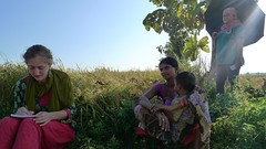 2016 Mamata Devi and Shekar (Foods Resource Bank) Tags: foods resource bank mennonite central committee bicws food security charitable humanitarian hunger women children men farmers kitchen gardens income rice training self help