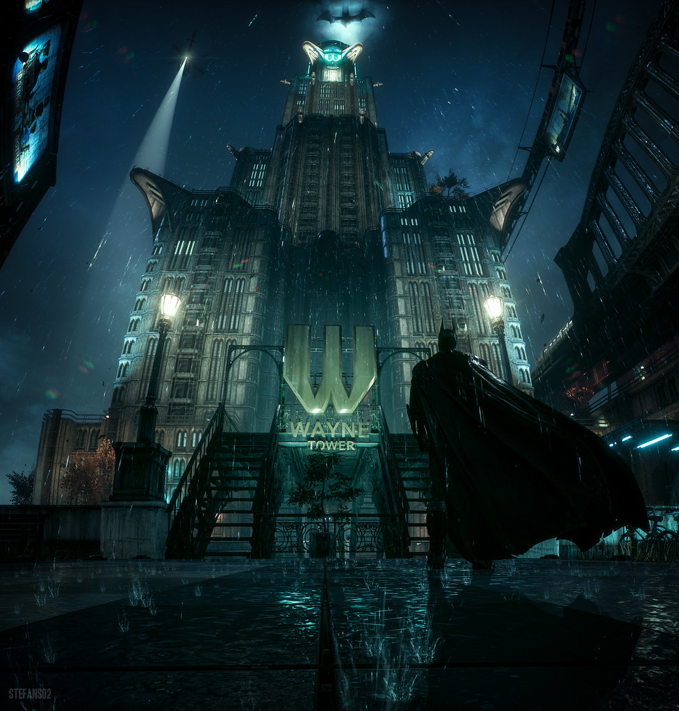 Batman Arkham Knight Batcave: The World's Best Photos Of Knight And Wayne