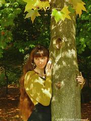 Natalya Hrebionka (Natali Antonovich) Tags: pensiveautumn autumn tervuren belgium natalyahrebionka reverie tree harmony portrait nature lifestyle fromfamilyalbum familyarchive