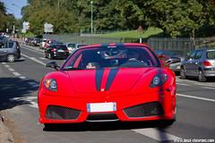 Baptème EAP 2009 - Ferrari 430 Scuderia (Deux-Chevrons.com) Tags: ferrarif430 ferrari430 ferrari f430 430 ferrari430scuderia ferrarif430scuderia scuderia sportcar sportive car coche voiture auto automobile automotive eap emotionautoprestige gt prestige
