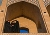 Two young veiled women on khaju bridge pol-e khaju looking away, Isfahan province, Isfahan, Iran (Eric Lafforgue) Tags: 20s 2people adultsonly ancient architectural architecture attraction bridge building chador city colorimage cultural day esfahan hispahan horizontal iran iranian isfahan ispahan khajubridge landmark middleeast muslim orient outdoors persia photography sepahan shahabbas stone stony tourism touristic traveldestinations twopeople unescoworldheritagesite urban veil veiled women womenonly zayandeh isfahanprovince