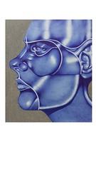 Blue-21 (Rebecca_Cruz) Tags: ballpoint pen futurism futurist art