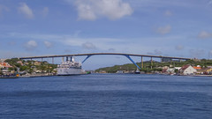 Queen Juliana bridge, Willemstad (-JvL-) Tags: willemstad curacao curaçao cw