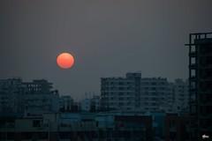 Urban Sunset | Dhaka (Farhan Alvee) Tags: sunset dhaka dhakacity nikonflickraward outdoor