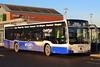 New Citaro (G3345) (Fraser Murdoch) Tags: mcgills bus services service ltd greenock gourock glasgow largs braehead dunoon george square mercedes benz citaro g3345 bv66gwk bv66 gwk plaxton panther volvo b12b gibson direct executive 901 906 907 clyde flyer clydeflyer depot g0606 0606 3345 fj56 ywe fj56ywe canon eos 650d transport coach photography fraser murdoch winter light sun
