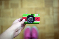 film (La fille renne) Tags: film analog 35mm lafillerenne canonae1program 50mmf18 expiredfilm expired kodak kodakultramax400 hand bokeh camera fisheye fisheyewatermelon watermelon