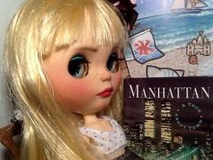 Blythe-a-Day November#27: Book Worm: Luna