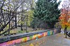 All The Colors Of The Rainbow On A Rainy Day (Trish Mayo) Tags: urbanart paintedwalls bronx mural fence andrewfreedmanhome