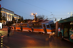 713 and 9078 after they crashed (sava.tashev1) Tags: transport sofia bulgaria strasenbahn publictransport homemade bulgarian