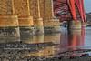 Foundations (Shuggie!!) Tags: architecture bladderwrack bridges forthbridges hdr landscape lothians morninglight reflections rocks scotland seaweed southqueensferry zenfolio karl williams karlwilliams