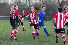 Altrincham LFC vs Stockport County LFC - December 2016-169 (MichaelRipleyPhotography) Tags: altrincham altrinchamfc altrinchamlfc altrinchamladies alty amateur ball community fans football footy header kick ladies ladiesfootball league merseyvalley nwrl nwrldivsion1south nonleague pass pitch referee robins shoot shot soccer stockportcountylfc stockportcountyladies supporters tackle team womensfootball