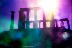 20161120-092 (sulamith.sallmann) Tags: antik antike attika blur building bunt colorful effect effekt filter folientechnik gebude gegenlicht greece griechenland kapsounio poseidontempel sonnenlicht sounio tempel temple unscharf grc sulamithsallmann