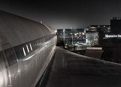 (Articdriver) Tags: concorde aircraft brooklands aviation supersonic delta britishairways wing night