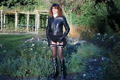 IMG_5953 (Kira Dede, please comment my photos.) Tags: kiradede kirad 2016 crossdresser copenhagen stockings lingerie upskirt hirschsprungssamling