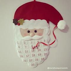 Calendário Papai Noel (mfuxiqueira) Tags: papainoel natal natal2016 decoraçãodenatal enfeitedenatal feltro felt