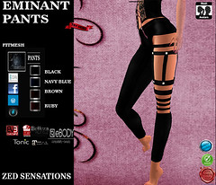 Eminant fitmesh PANTS (Zed Sensations) Tags: leather corset fitmesh long evemesh pulpy slim isis freya hourglass physique curvy fine fitted mesh gothic urban rock roll metal fashion clothing vampire pants tightstop zed sensations eve belleza ebody maitreya slink tmp tonic