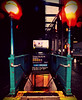 Times Square Subway Station (Robert S. Photography) Tags: subway station 42ndst timessquare city newyork lamps lights street signs rain rainyday manhattan nikon vintage coolpix l340 iso320 november 2016