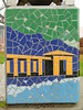pergola (Jef Poskanzer) Tags: tile mosaic trashcan garbagecan pergola lakemerritt geotagged geo:lat=3780710 geo:lon=12226319 t