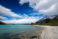 Orilla del Lago Nordenskjold (lpcortesfotografias) Tags: nature landscape chile sonya58 tokina1116mm outdoor clouds sky naturaleza nubes blue torresdelpaine regiondemagallanes patagonia paisaje
