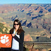 "Arizona Angela Carlton '10 showed her Tiger pride at the Grand Canyon. • <a style=""font-size:0.8em;"" href=""http://www.flickr.com/photos/49650603@N07/13929236157/"" target=""_blank"">View on Flickr</a>"