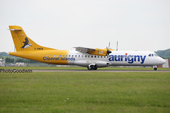 Aurigny ATR-72 Stansted (Chris Goodwin - AirTeamImages) Tags: new london islands airport scheme essex guernsey stansted channel stn atr atr72 aurigny egss gbwdb