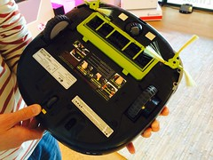 LG robotstofzuiger op z'n kop #BrightDay
