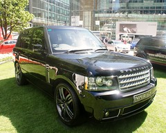 Overfinch Range Rover (MJ_100) Tags: london car vehicle suv canarywharf rangerover overfinch tuned motorexpo