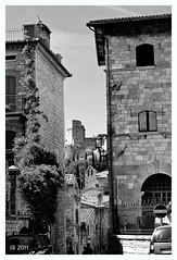 Assisi Non E' Punto di Partenza (STEVE BEST ONE) Tags: bw italy castle nikon italia bn castello assisi umbria scorcio 2011 d3100