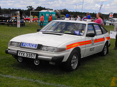 Rover 2600 - YYX 335T (Andy Reeve-Smith) Tags: bedfordshire police rover luton 3500 britishleyland stockwoodpark sd1 festivaloftransport blmc