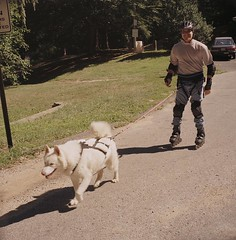 "WooFDriver Roller Blading With Czar 5 • <a style=""font-size:0.8em;"" href=""http://www.flickr.com/photos/96196263@N07/14367759939/"" target=""_blank"">View on Flickr</a>"