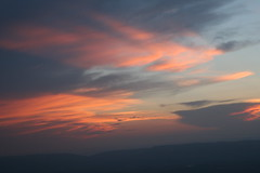 Nighty-night! (eyriel) Tags: sunset sky cloud mountain color nature clouds virginia overlook shenandoahnationalpark shenandoahmountains