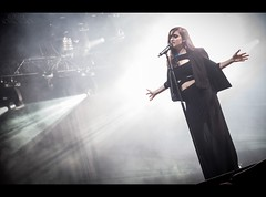Banks (Zuza Sosnowska) Tags: show festival concert live stage tent banks opener