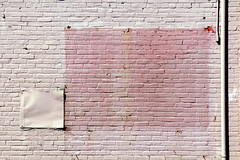 Wall (alankin) Tags: light geometric shadows pennsylvania painted bricks walls ardmore rectangles redbrick niknala nikond300 nikkorafvrzoom55200mmf456gifed 4oct2009 1100009au