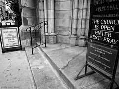 From the Confusing Signage Department (CVerwaal) Tags: nyc usa signs ny newyork churches mzuiko12mmf20 olympusem5
