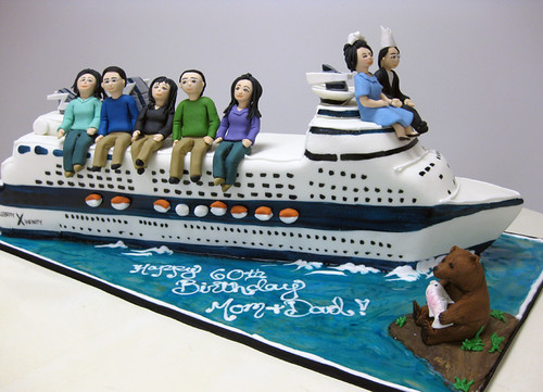 Cruise Ship Cake med