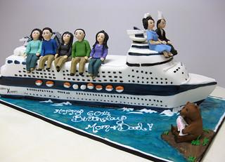 Cruise Ship Cake med