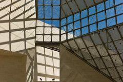 Light in the Afternoon [Explored] (The_Kevster) Tags: leica roof light sky art glass museum gallery shadows rangefinder explore luxembourg clausen summicron50mm mudam leicam9