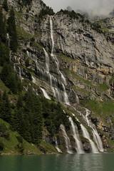 Wasserfall - Waterfall eines Bergbach ( Creek - Bach ) am Oeschinensee ( Bergsee - See - Lac - Lake ) oberhalb von Kandersteg im Berner Oberland im Kanton Bern in der Schweiz (chrchr_75) Tags: chriguhurnibluemailch christoph hurni schweiz suisse switzerland svizzera suissa swiss kantonbern chrchr chrchr75 chrigu chriguhurni 1407 juli 2014 hurni140731 berner oberland berneroberland oeschinensee see lac lake lago albumoeschinensee alpensee bergsee albumbergseenimkantonbern s jrvi  bergseeli seeli kandersteg albumwasserflleimkantonbern albumwasserfllewaterfallsderschweiz wasserfall   vandfald waterfall cascade  cascada waterval wodospad vattenfall vodopd slap juli2014