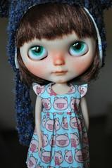 mi pequea Tole Tole ^_^ (tati68 .) Tags: cute eyes blythe freckles custom takara licca rbl blythecasualaffair customtoletole