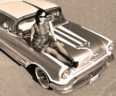 "1956 Oldsmobile Photo Shoot • <a style=""font-size:0.8em;"" href=""http://www.flickr.com/photos/85572005@N00/14665478078/"" target=""_blank"">View on Flickr</a>"