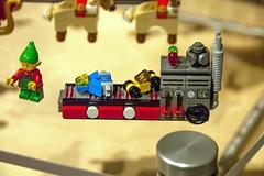 Unveiling:  Santa's Workshop (SEdmison) Tags: set reindeer lego workshop santaclaus spaceship unveiling premier elves santasvillage santasworkshop bbtb bricksbythebay bbtb2014 bricksbythebay2014
