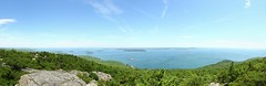 Panoramic View from Champlain Mtn, Acadia (Kevin Hatcher Photography) Tags: panorama canon nationalpark 1740mm acadia 550d