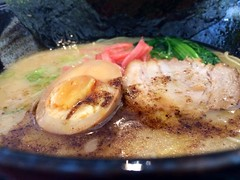 Tonkatsu ramen at Goemon.