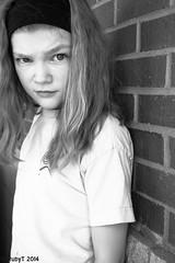 surely not (RubyT (I come here for cameraderie)) Tags: portrait blackandwhite bw girl monochrome mono monocromo noiretblanc nb schwarzweiss negroyblanco aplaceforportraits sonyrx100