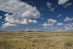 Cody's sky (•Nicolas•) Tags: sky usa blue field champ holidays unitedstates america 2014 roadtrip travel cloud cloudy nicolasthomas