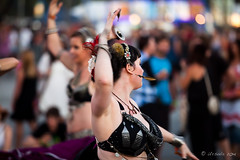 Belly Dancers 6431 (Ursula in Aus) Tags: music bellydancer australia dancer nsw performer byronbay bluesfest2014