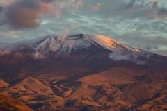 Volcn Purac iluminado con la luz del atardecer (Jos M. Arboleda) Tags: canon eos volcano colombia jose 5d volcn arboleda markiii ef400mmf56lusm purac josmarboledac