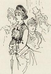"""Image from page 346 of """"La vie hors de chez soi (comédie de notre temps) l'hiver, le printemps, l'été, l'automne; études au crayon et à la plume"""" (1876)"""